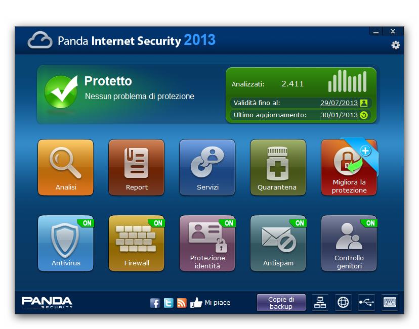 Panda Internet Security 2013 gratis per 6 mesi!