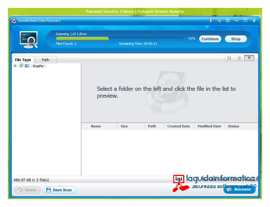 Wondershare Data Recovery download e licenza gratis!